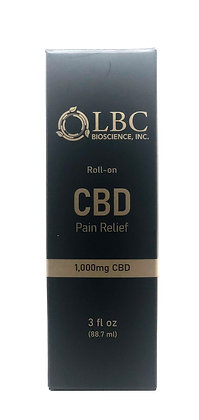 1000MG PAIN RELIEF ROLL-ON