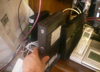 光回線ONUのクリーン電源も重要!Clean power for ONU for optical internet is important, as well.