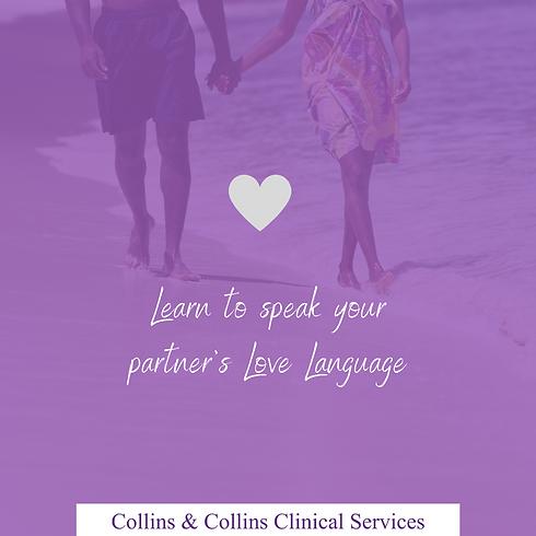 Learn to speak your partner's Love Langu