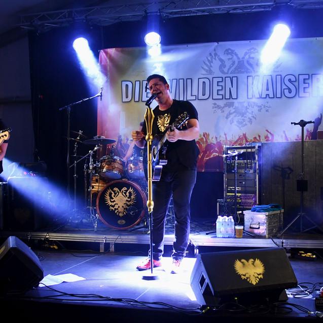 DIE WILDEN KAISER live pic (c) Lukas Arnold