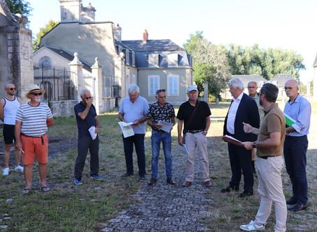 Les journées du patrimoine au Château et Parc de la Chaussade : Les bénévoles se mobilisent