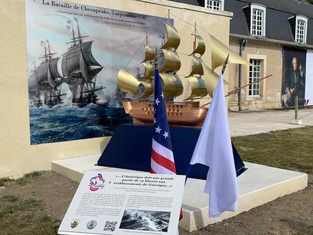 5 Septembre 2021 : Succès total pour Guérigny, son histoire et pour l'amitié franco-américaine