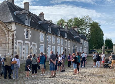 1000 visiteurs : succès populaire total pour la 1ère ouverture au public du Château de la Chaussade
