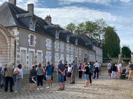 1200 visiteurs : succès populaire total pour la 1ère ouverture au public du Château de la Chaussade