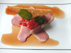 Foie gras de canard et magret de canard