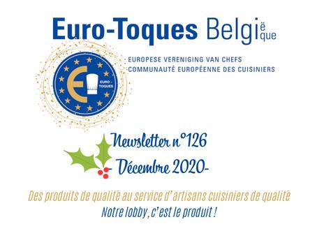 Newsletter n°126 - décembre 2020 -