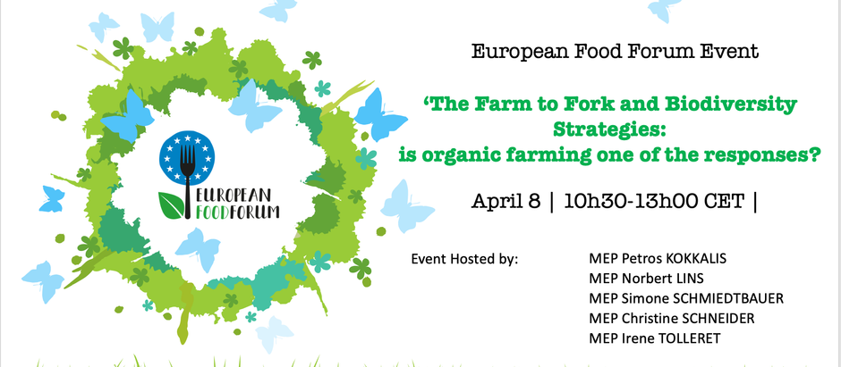 EFF - The Farm to Fork and Biodiversity Strategies: is organic farming one of the responses ?