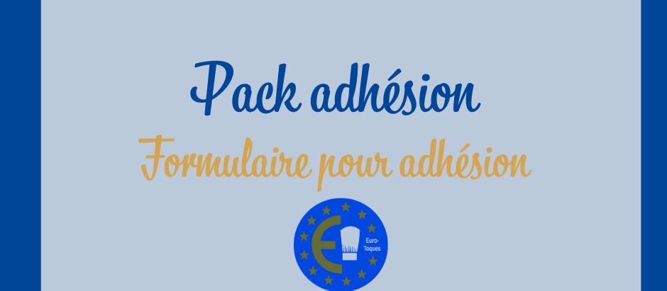 PACK ADHÉSION EURO-TOQUES BELGIQUE