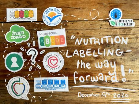 (Au coeur de l'Europe - L'étiquetage nutritionnel - la voie à suivre !)
