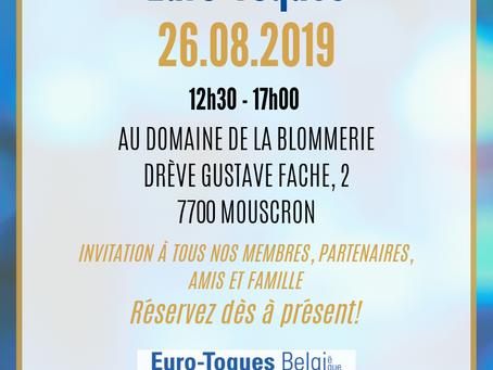 EURO-TOQUES - NOTRE GARDEN PARTY ANNUELLE AURA LIEU LE 26 AOÛT 2019
