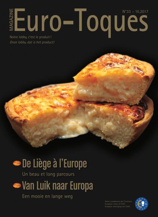 Euro-Toques Belgique - n°33 - 10 2017 -