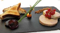 Foie gras de canard en torchon - Antoine