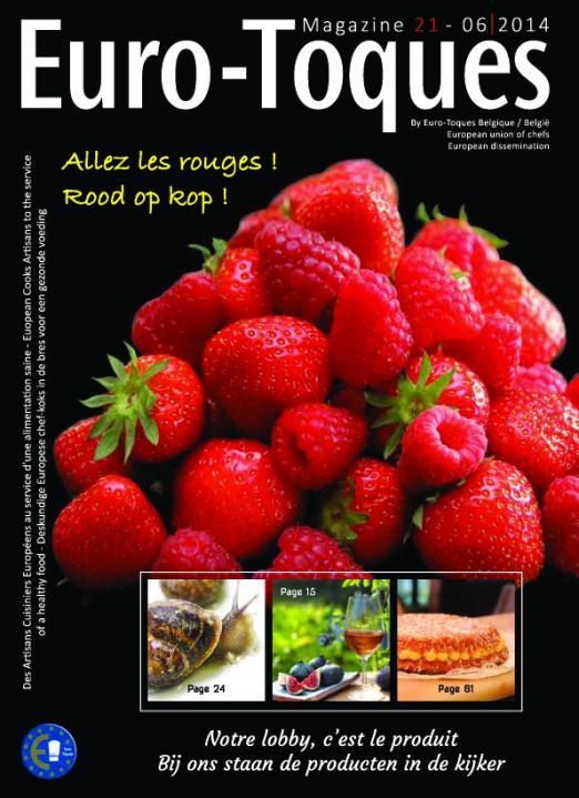 Euro-Toques Belgique - n°21 - 06 2014 -