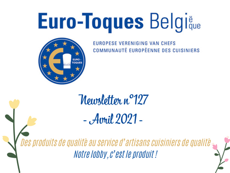 Newsletter n°127 - avril 2021