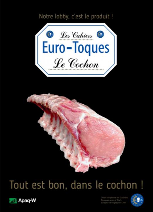 Euro-Toques Belgique - Cahier - Le cochon