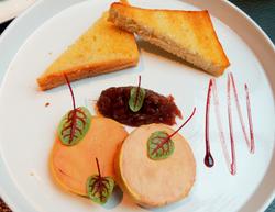 Foie gras au torchon - Frans Saint Germain