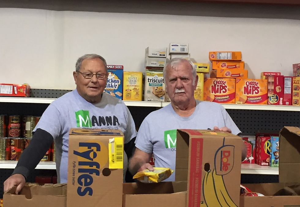 Volunteering at Manna Outreach Ministries AMCOG