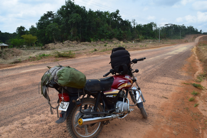 West African Motorcycle Diaries:  Trying and Failing to get into Ivory Coast  - Attempt #1