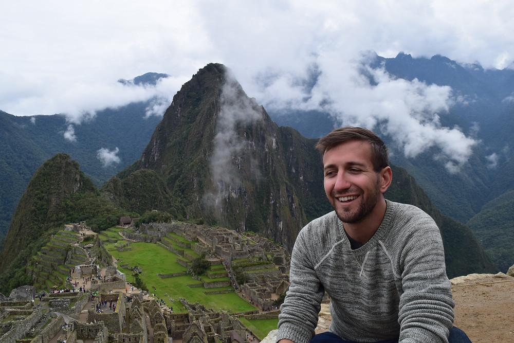 Sal Lavallo in Machu Picchu