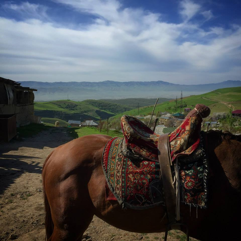 Sal Lavallo Tajikistan Horse Back Riding