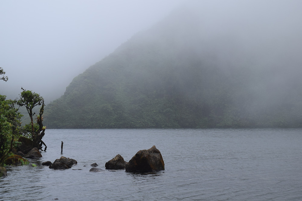 Mountain Lake Dominica Sal Lavallo
