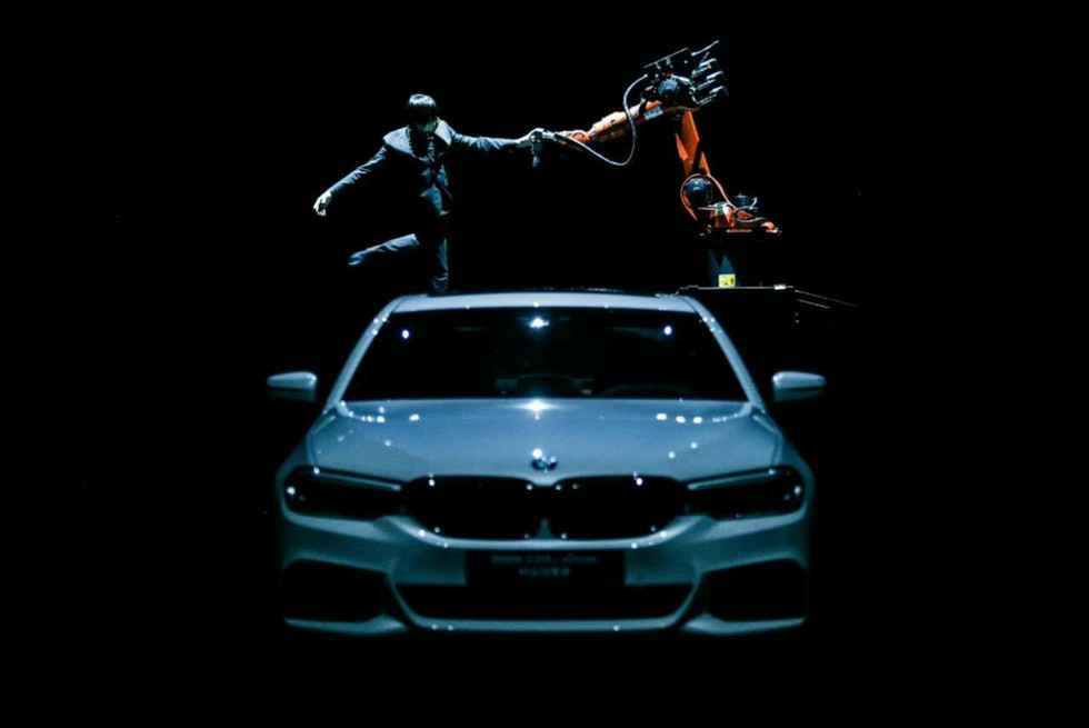 KUKA 黃翊 BMW 車展