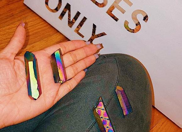 Rainbow Titanium Quartz Point