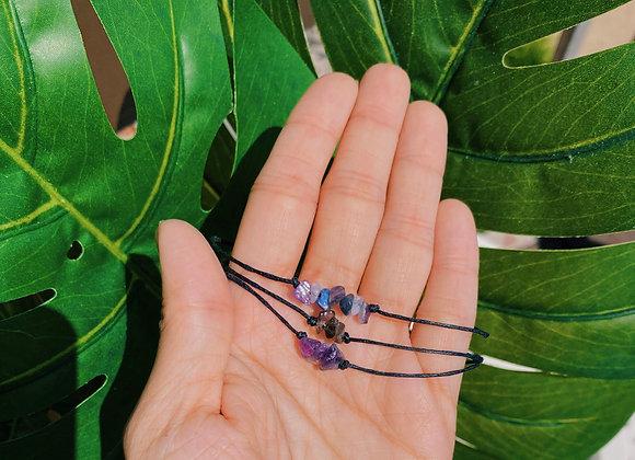 Crystal Chip Bracelet