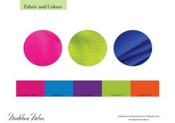 Fabrics and Colours