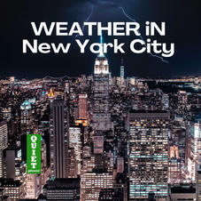weather in new york city podcast cover a