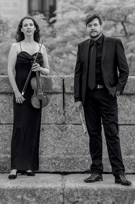Beatriz Amezúa y Juan Portilla foto de P