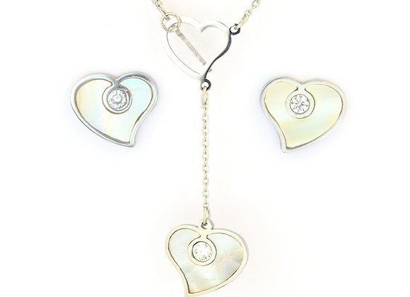 Voguish Earrings and Necklace Set