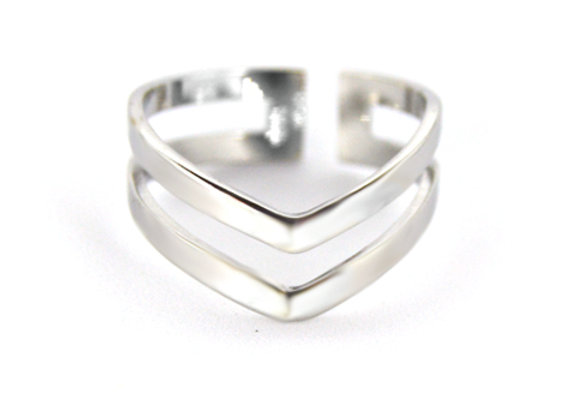 Double Wishbone Ring