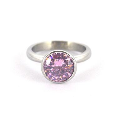 pink gem ring