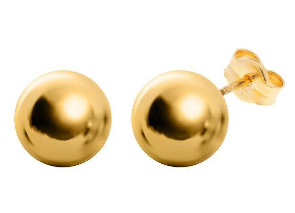 Gold Ball Studs