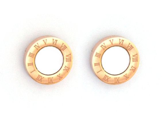 Numeral Studs