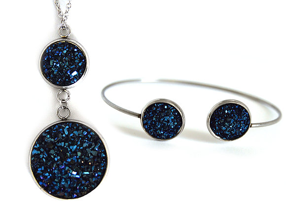 Astronomers Earring and Pendant Set