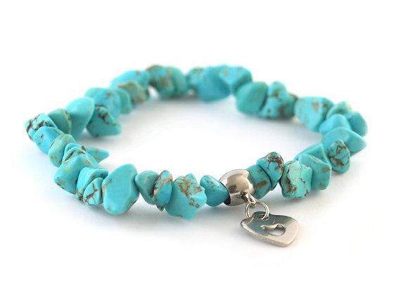 Turquoise Stretchy Bracelet