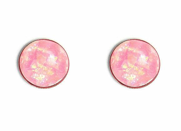 Foil Detail Studded Earring