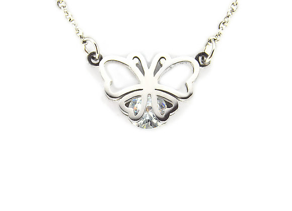 Brushfoot Butterfly Necklace