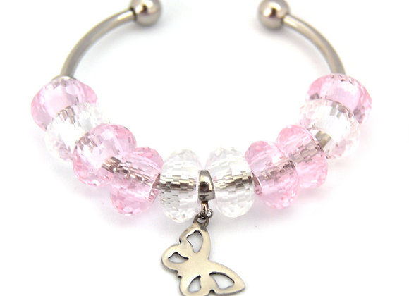 Baby Butterfly Charm Bangle