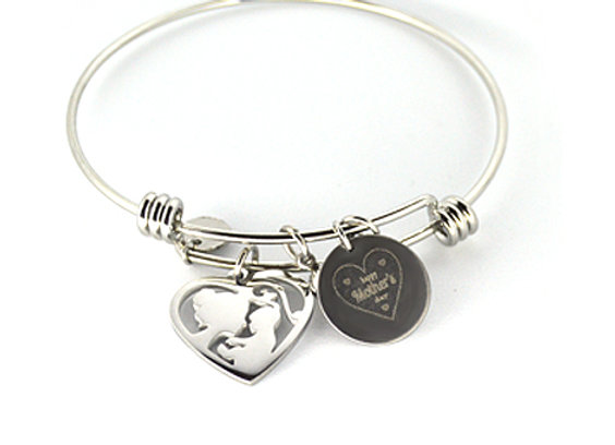 Mother and Child Bangle