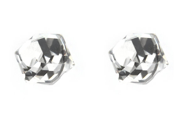 Crystal Cube Studs