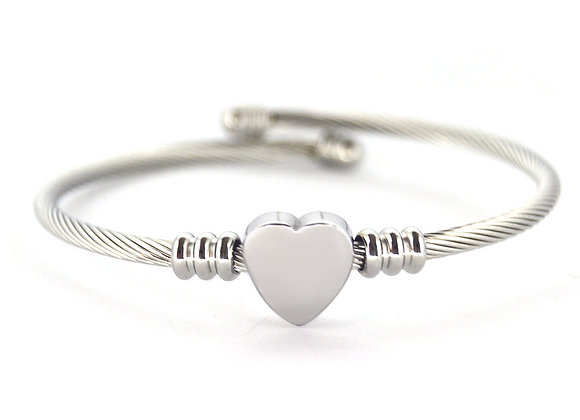 Twisted Heart Bracelet