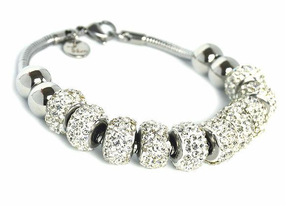 Simple Studded Crystal Bracelet