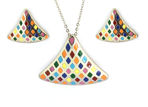 The Remarkable Earrings and Pendant Set