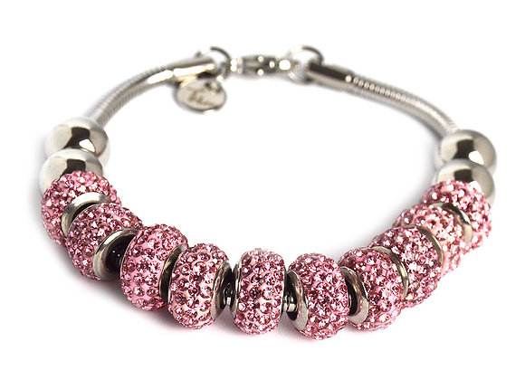 Simple Studded Crystal Bracelet