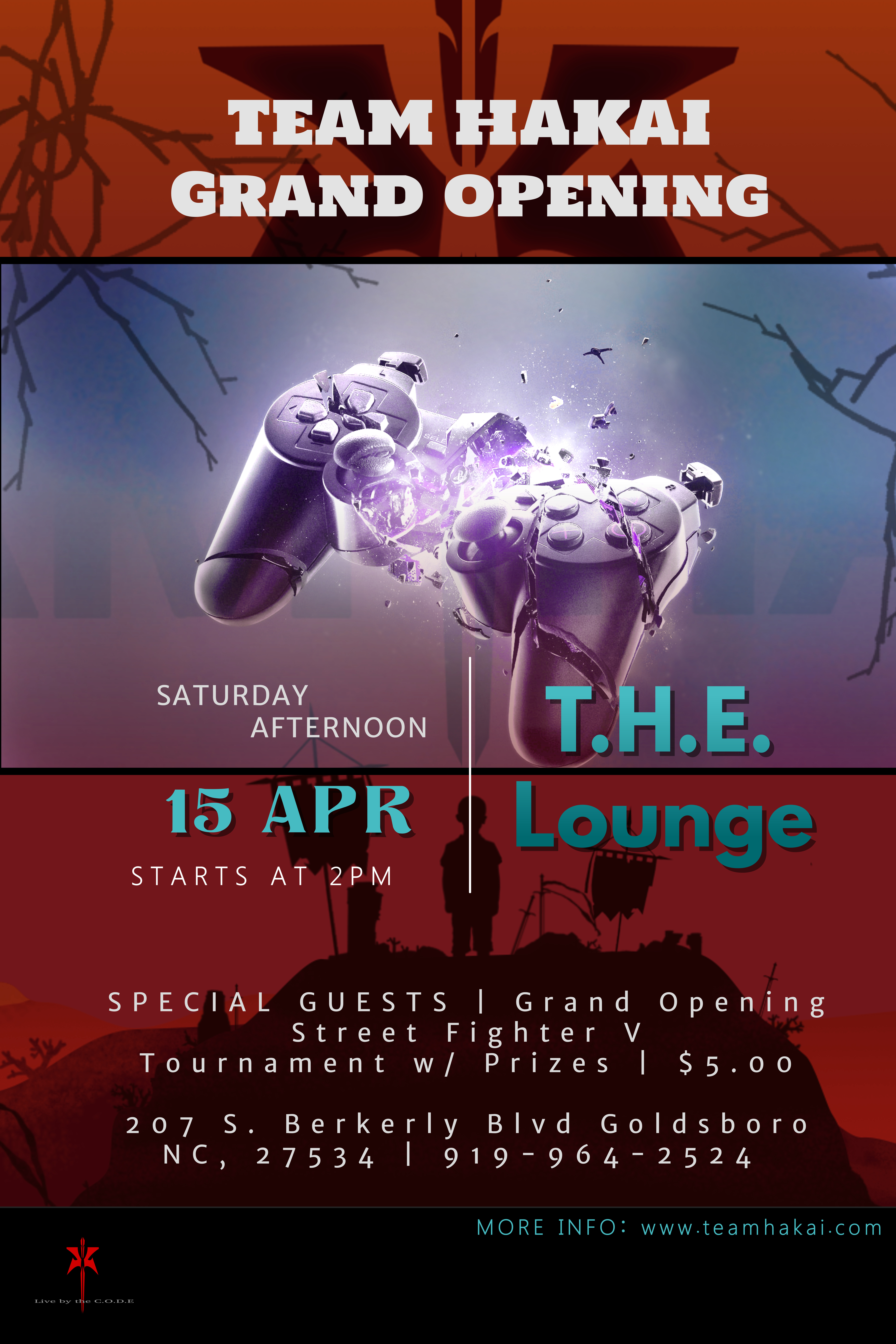 Copy of Video Game Event Flyer Template (1)