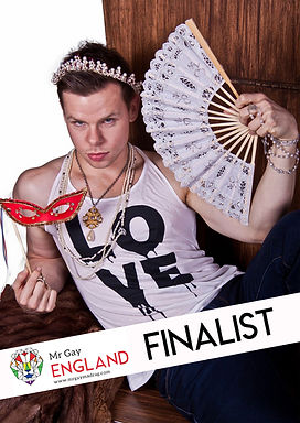Aaron Twitchen Mr Gay England 2020 finalist