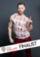Aaron Twitchen Mr Gay England 2020 finalist